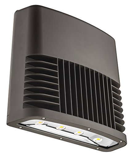 Lithonia Lighting OLWX2 LED 150W 50K 120 PE DDB M2 LED Wall Pack, Black Bronze