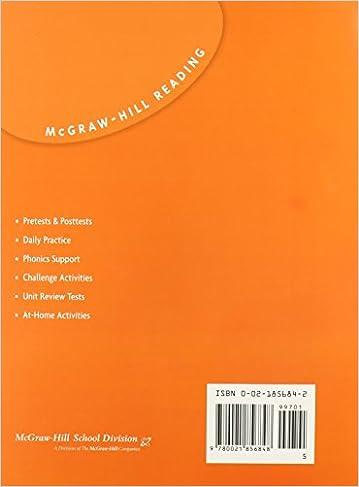 Spelling Practice Book: Grade 5 (Mcgraw-Hill Reading): McGraw-Hill ...