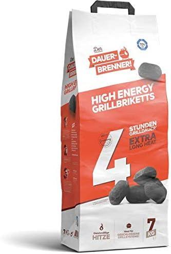 Rhein Brown Fuel GmbH Long High Energy Barbecue Briquettes 7/kg