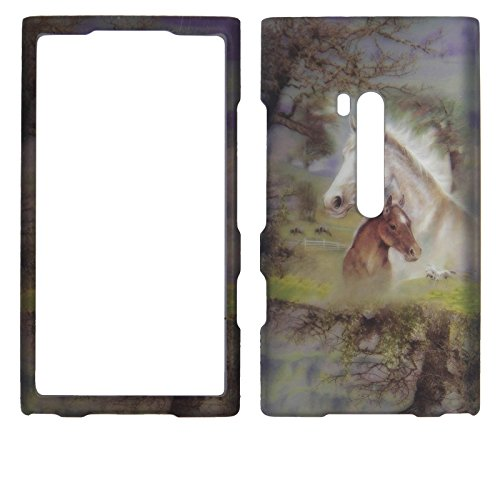 Next Generation Horses Nokia Lumia 920 (AT&T) Case Cover Hard Protector Phone Cover Snap on Case Faceplates ()