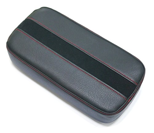 Sports Suede Black Line Armrest Console Cushion for Toyota 2011 2012 2013 2015 Sienna