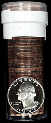 1976 S Proof Washington Quarters Complete Roll (40-Coins) Drummerboy Quarters -- PROOF ROLL Drummerboy Quarter pROOF US Mint