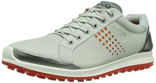 ECCO Men's Golf Biom Hybrid 2, Men's Golf Shoes, Grau (59054CONCRETE/FIRE), 12 UK by ECCO