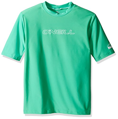 O'Neill Wetsuits UV Sun Protection Youth Basic Skins Short Sleeve Tee Sun Shirt Rash Guard