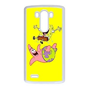 LG G3 phone case White Sponge Bob CHR4582069