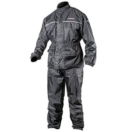 AGV Sport Thunder 2-piece rain suit - black - large by AGVSport (Image #1)