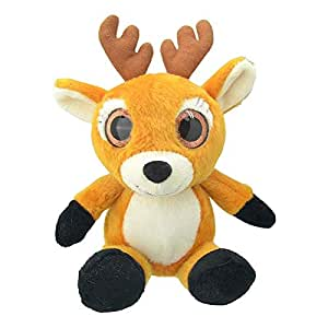 Wild Planet Small Orbys Deer Soft Plush Toy - 4 Years & Above