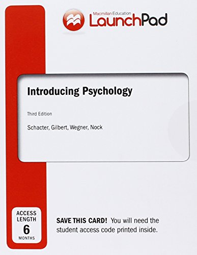 Psychology Schacter Pdf