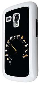 1202 - Multi Animal Speed Dahboard Design For Samsung Galaxy S3 Mini Fashion Trend CASE Back COVER Plastic&Thin Metal - White