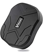 Rastreador GPS TKMARS Tiempo Real GPS Tracker para Autos Vehículo o Moto Impermeable Localizadores GPS con Imán Fuerte,Batería por hasta 3 Meses,Oculto,Alarma Anti-robo, Límite de Velocidad y Geo-Cerca TK905