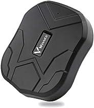 Rastreador GPS TKMARS Tiempo Real GPS Tracker para Autos Vehículo o Moto Impermeable Localizadores GPS con Imá