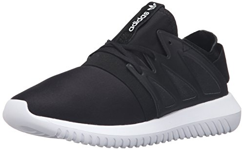 adidas Originals Women's Shoes | Tubular Viral Fashion Sneakers, Black/Black/White, (8.5 M US) by adidas Originals