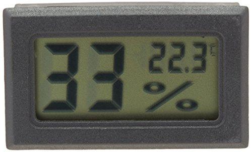 Display Black Ray-JrMALL Mini Digital Temperature Humidity Meter Gauge Thermometer Hygrometer LCD Degree Celsius C