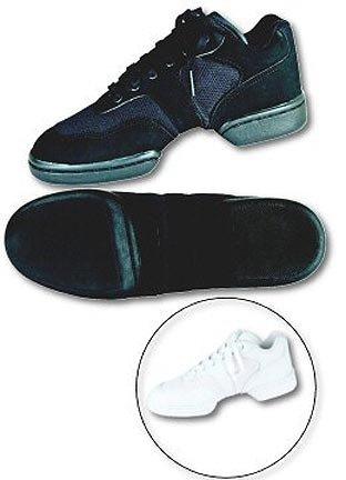 Scarpe Da Ginnastica Per Adulti Basse Nere Da Ballo, Sneaker, Taglia 8, Nere