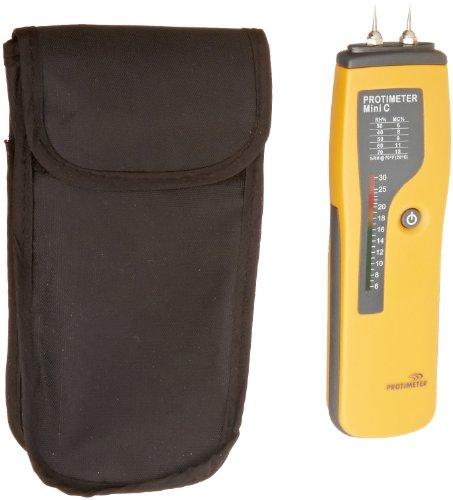 GE Protimeter BLD2001 Mini C Moisture Meter, LED Display, 6 to 30 Range, 7-1 64 Length x 1-29 32 Width x 1.09 Height