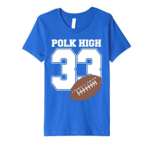 Kids Polk High 33 Couples Halloween Costume Premium T-shirt 8 Royal (Three Group Costume Ideas)