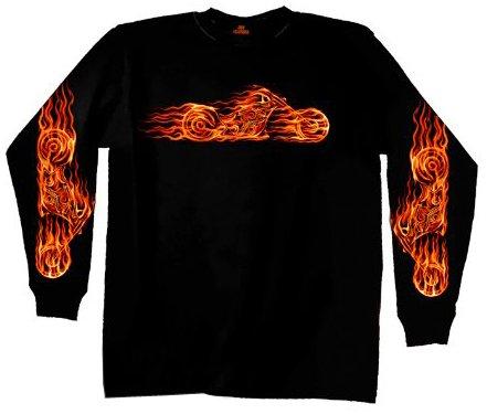 Long Sleeve Biker Shirt - 5