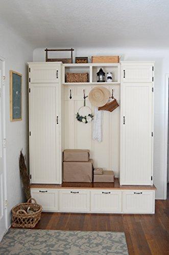 (Mudroom Cabinet - Entry Cabinet - Hall Tree)