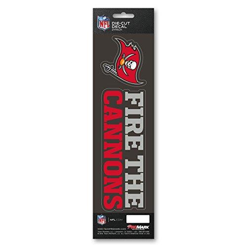 Team ProMark NFL Tampa Bay Buccaneers Slogan Decal