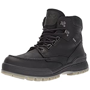 ECCO Men's Track 25 High Winter Boot, Black/Black, 44 M EU/10-10.5 D(M) US