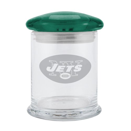 NFL New York Jets Small Candy Jar (Nfl Jar Candy)