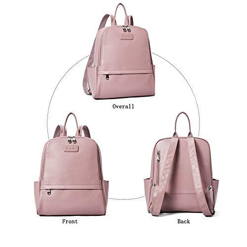681c5282da3 BOSTANTEN Genuine Leather Backpack Purse Fashion Bags for Women