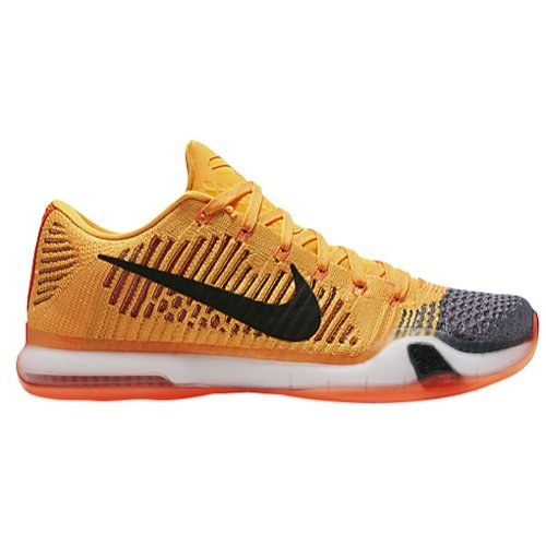 Nike Mens Kobe X Elite Low, RIVALRY-TOTAL ORANGE/BLACK-LASER ORANGE-TMBLD G, 10 M US