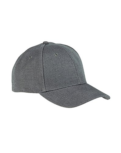 picture of ECON HEMP BASEBALL CAP (CHARCOAL) (OS)