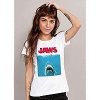 Camiseta Tubarão Filme Feminina