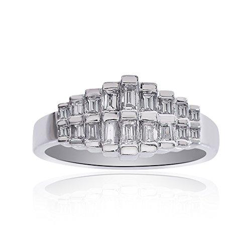 0.75 Ct Diamond Baguette - 8