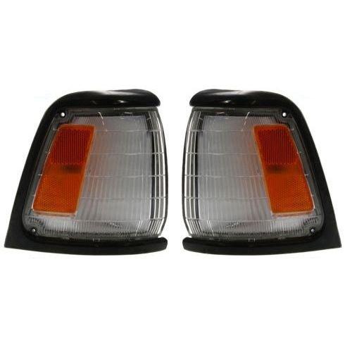 Diften 168-C5562-X01 - New Set of 2 Corner Lights Parking Side Marker Lamps Left & Right Truck Pair