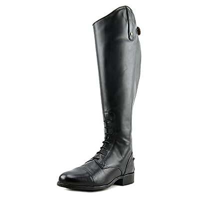 Ariat Women's Heritage Contour Field Zip Boots Black 5.5 SS