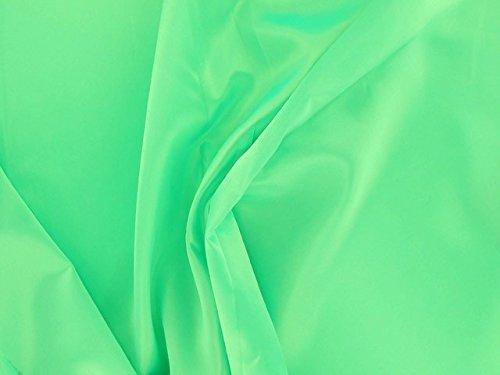 Dalston Mill Fabrics Satin Acetate Fabric, White, 2m 201-1-L2