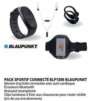 Blaupunkt Pack Sportif connecté et écouteurs BLP1300