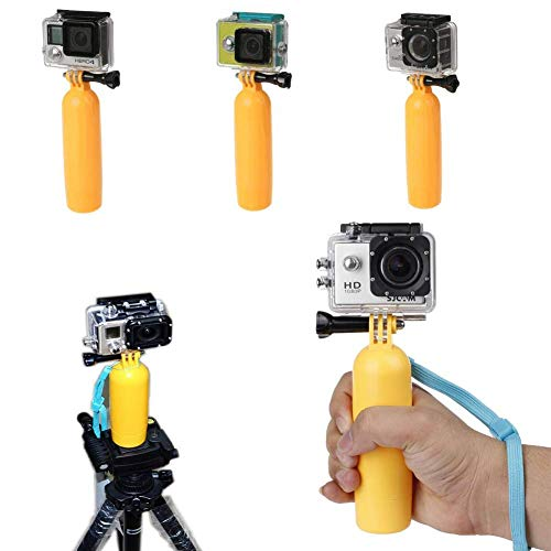 Semoic Floating Grip Handheld Stick Monopod for GoPro Hero 7/6/5/ Session/ 4 Session/ 4/3+/ 3/2/1, SJ4000/SJ5000, with Long Handle Screw and Wrist Strap by Semoic (Image #5)