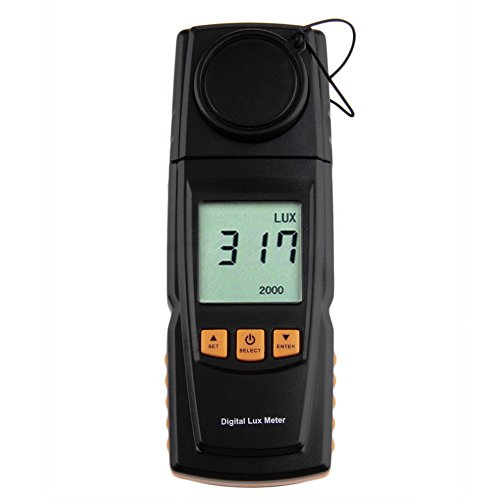 GM1020 LCD Display Handheld Digital Lux Light Meter Photometer Up to 200,000 Lux by Isguin