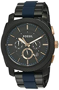 Fossil Chronograph Black Dial Men's Watch - FS5164