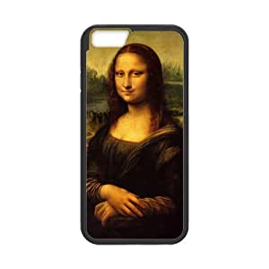 iPhone 6 Case, [Mona Lisa] iPhone 6 (4.7) Case Custom Durable Case Cover for iPhone6 TPU case(Laser Technology)