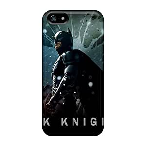 For Mwaerke Iphone Protective Case, High Quality For Iphone 5/5s The Dark Knight Rises Official Skin Case Cover