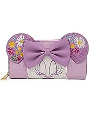 Loungefly Disney Minnie Holding Flowers Ziparound Standard