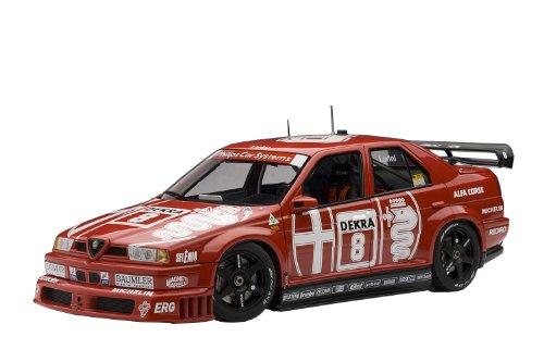1/18 アルファロメオ 155 V6 TI DTM 1993 #8 開幕戦・ゾルダー優勝 ニコラ・ラリーニ/1993年 ドライバーズ・チャンピオン 89303
