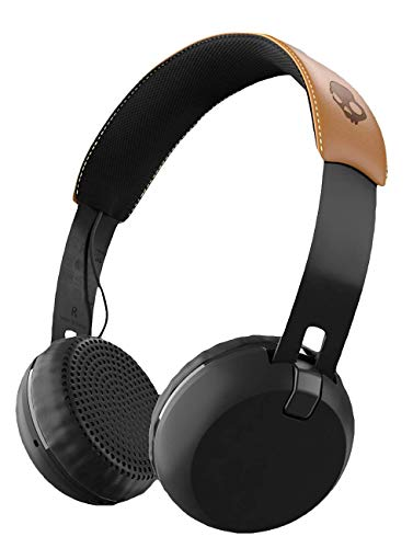 Skullcandy Grind Bluetooth Wireless On-Ear Headphones, Black
