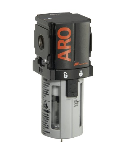ARO F35121-400-VS Air Line Filter, 1/4' NPT - 150 psi Max Inlet