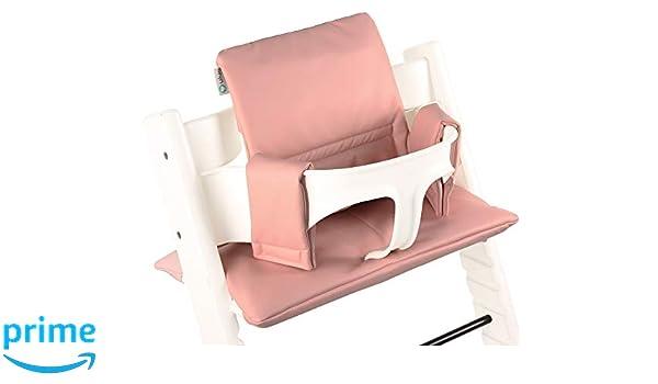 Cojín asiento para Stokke Tripp Trapp ♥ Plastificado ♥ Rosa