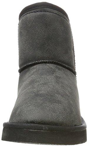 ESPRIT Damen Uma Vintage Schlupfstiefel Schwarz (Black)