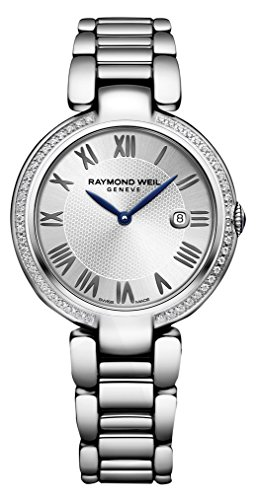 - Raymond Weil ' Shine' Quartz Stainless Steel Casual Watch, Color:Silver-Toned (Model: 1600-STS-RE659)