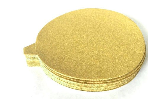 5 Inch PSA Adhesive Sticky Back Tabbed Sanding Discs 25 Pack, 400 Grit