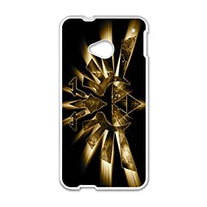 Shinign Gold Design Bestselling Hot Seller High Quality Case Cove Hard Case For HTC M7