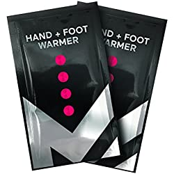Mission Nitroactive Hand & Foot Warmer (2 Pack), One Size