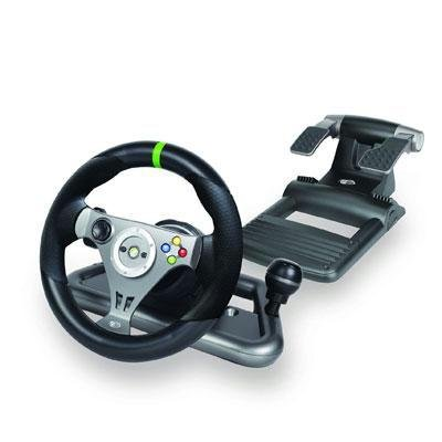 - Mad Catz X360 Wireless Steering Wheel